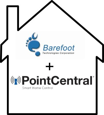 barefoot and pointCentral