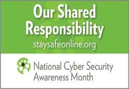 national cyber security awareness month 2012