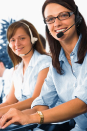Young- Friendly- Female- Helpdesk