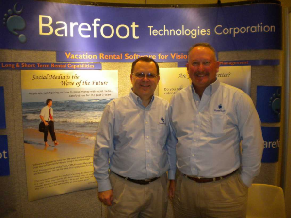 Mike and Steve at Barefoot Booth resized 600