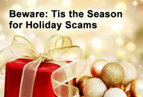 Holiday Scam Season